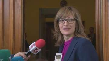 Екатерина Захариева: Не съм изоставила съдебната реформа