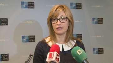 Захариева: Всички от НАТО смятат, че диалогът с Москва трябва да продължи