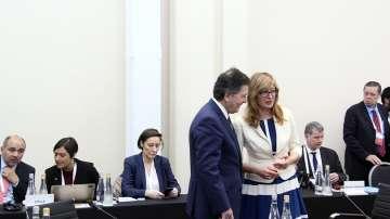 Екатерина Захариева на срещата на външните министри от Г-20