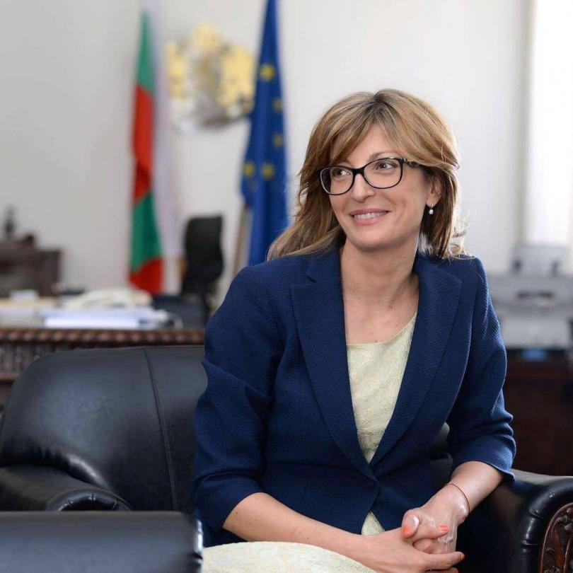"""Захариева ще участва в Съвета """"Външни работи"""" в Люксембург"""