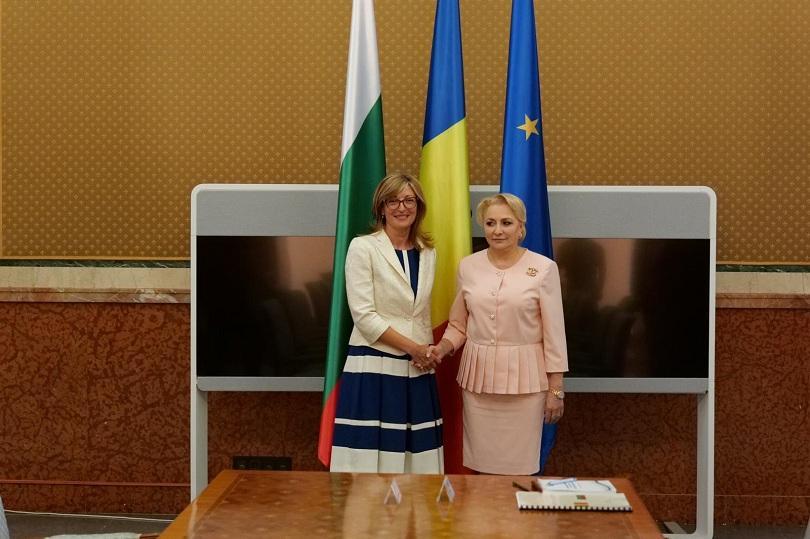 екатерина захариева срещна румънския премиер
