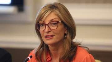 Захариева: През март трябва да има решение за Северна Македония и Албания
