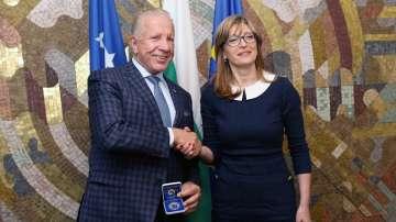 Среща на външните министри на България и Косово