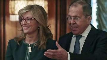 Захариева и Лавров обсъдиха стратегически енергийни проекти