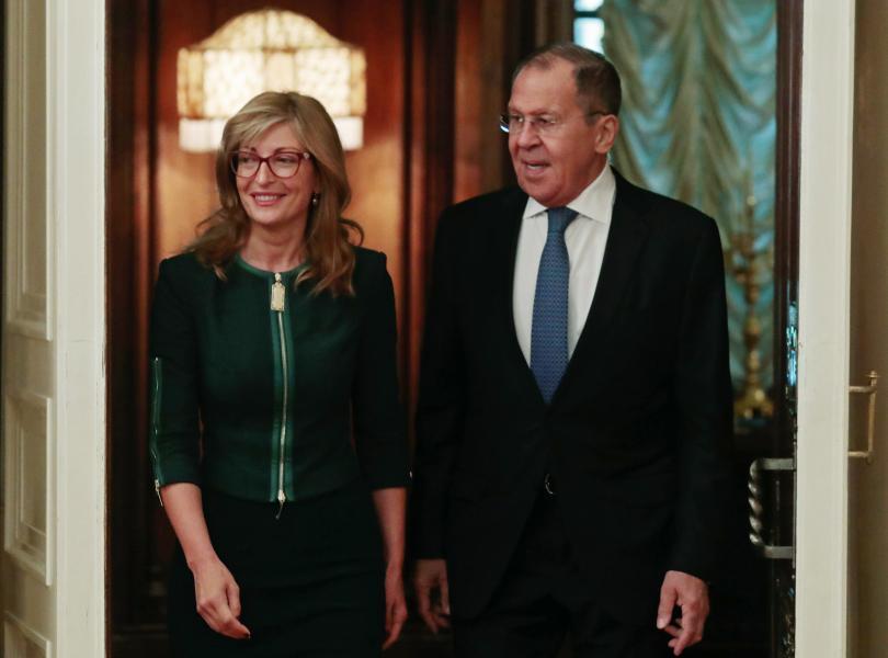 снимка 1 Захариева и Лавров обсъдиха стратегически енергийни проекти