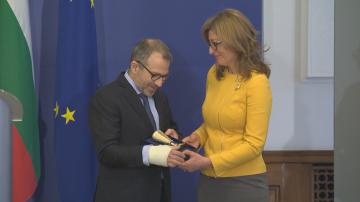 Екатерина Захариева се срещна с ливанския си колега Джебран Басил