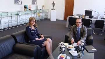 Външният министър на Германия Хайко Маас пристига на посещение у нас