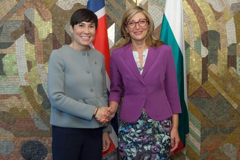 България и Норвегия трябва да засилят стокообмена си и да