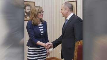 Екатерина Захариева и Румен Радев ще работят заедно за националния интерес