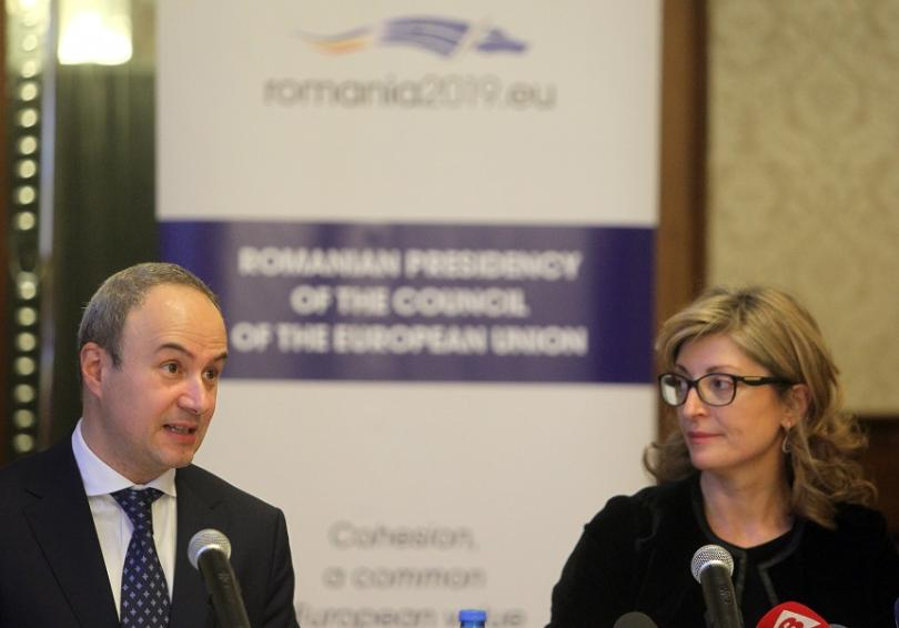 Посланикът на Румъния у нас представи приоритетите на Румънското председателство