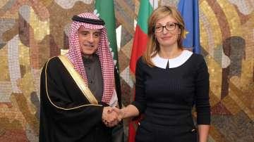 Външният министър на Саудитска Арабия на посещение у нас