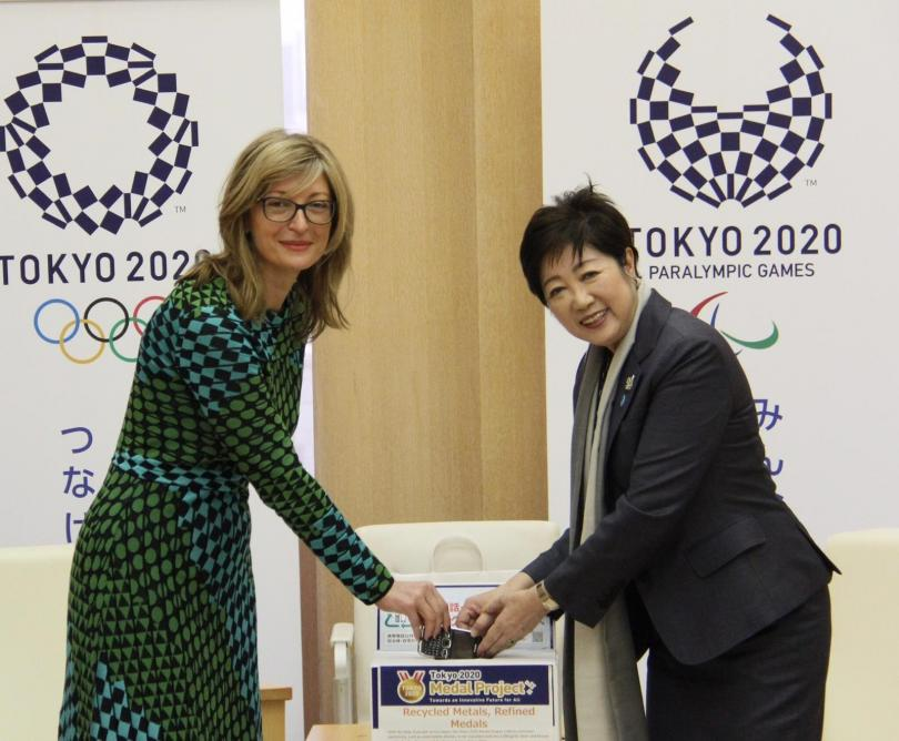 Вицепремиерът Екатерина Захариева е на официална визита в Токио по