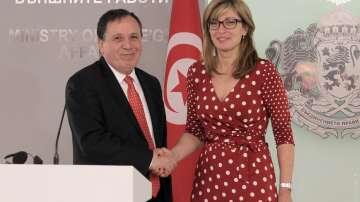 Посещение на министъра на външните работи на Тунис у нас