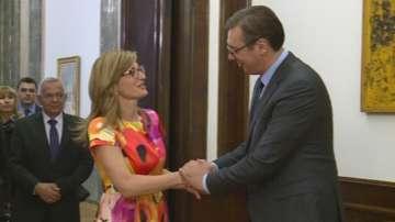 Започна визитата на Екатерина Захариева в Република Сърбия