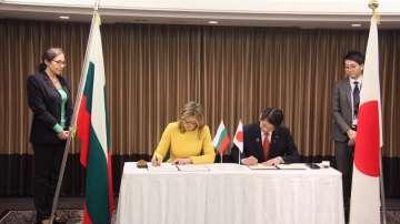 Външните министерства на България и Япония с Меморандум за сътрудничество