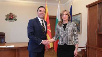 Външните министри на България и Северна Македония проведоха среща в София