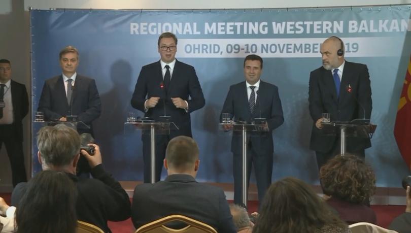 Свободно придвижване на хора, стоки, услуги и капитали между Сърбия,