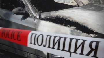 Запалиха колата на съпругата на кмета на Пловдив