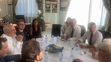 Външният министър на Иран посети изненадващо Биариц