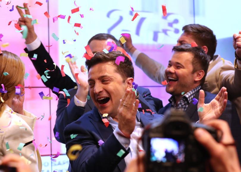 Снимка: Очаквана и убедителна победа за Володимир Зеленски на изборите в Украйна