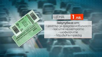 Въвежда се зелен билет за днес в София