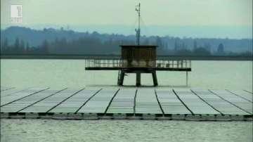 Зелена светлина: Най-голямата плаваща соларна ферма в Европа