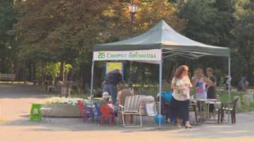 Зелена библиотека отвори в столичния Южен парк