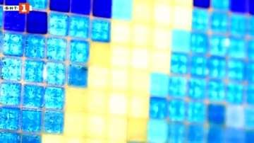 Зелена светлина: мозайки от рециклирани материали