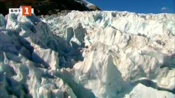 Зелена светлина: Изчезващите ледници на Нова Зеландия
