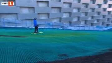 Зелена светлина: Ски писта върху покрива на завод за отпадъци