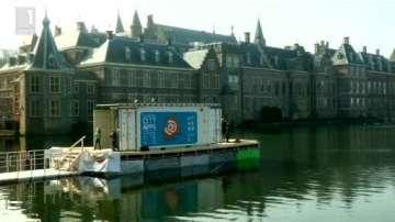 Зелена светлина: Плаваща класна стая в Холандия