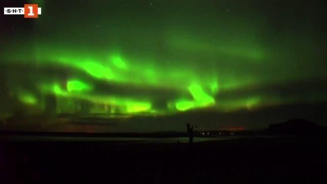 Снимка: Зелена светлина: На лов за северно сияние