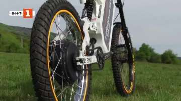 Зелена светлина: Български електрически планински велосипед