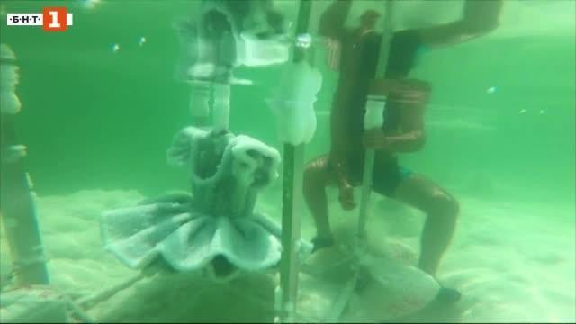 Вдъхновява я Мъртво море. За нея то е лаборатория за