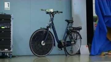 Зелена светлина: Електрически велосипед със соларни клетки