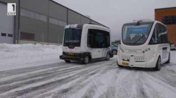 Зелена светлина: Автобуси без водачи във Финландия