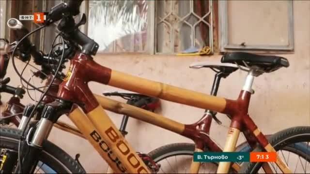 Велосипедът остарява, рамката се чупи и... тук се намесва Нурдин