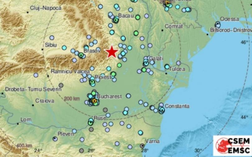 снимка 1 Силно земетресение в Румъния беше усетено и в Северна България