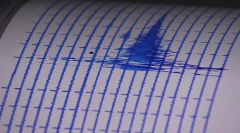 земетресение сила беше регистрирано бреговете япония