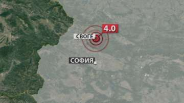 След земетресението в Своге: Няма пострадали и материални щети