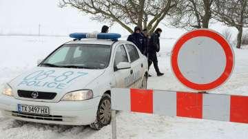 Няма бедстващи хора по пътищата в Североизточна България