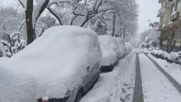 Студ и сняг в Европа