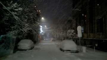 Между 15 и 20 сантиметра сняг наваля тази нощ в Русенско