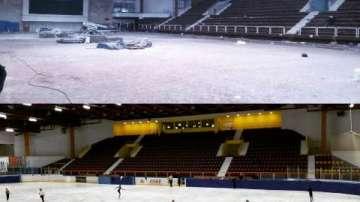 Зимният дворец на спорта в София посреща посетителите в напълно обновена сграда