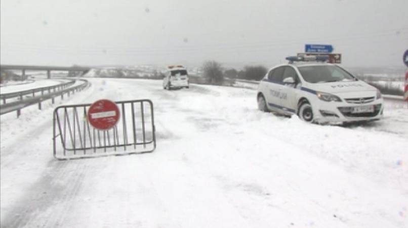 Снимка: Усложнена остава зимната обстановка в страната