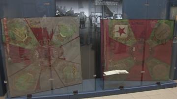 Националният военноисторически музей показва спасените бойни знамена на армията